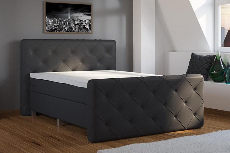 boxspring ágy - ágyneműtartós  : Bonaldo Superior – ágyneműtartós boxspring ágy