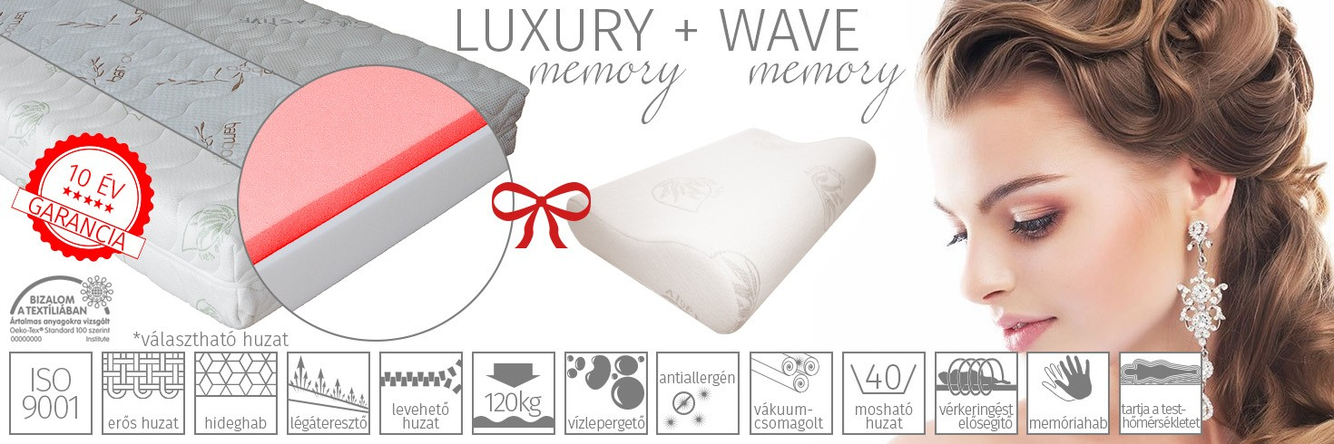 Luxury memory matrac