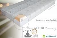 Wellness memory matrac Memóriahabos matrac