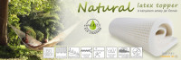 Natural Latex topper Fedőmatrac