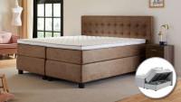 Disk Superior – ágyneműtartós boxspring ágy Boxspring ágy - Ágyneműtartós