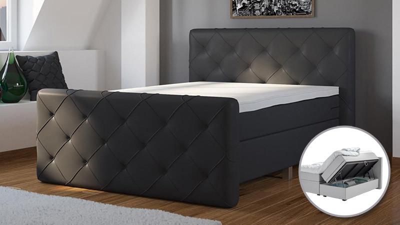 Bonaldo Superior – ágyneműtartós boxspring ágy