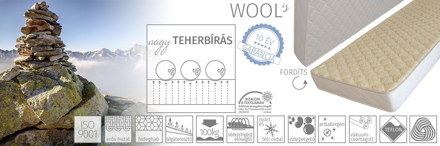 Wool's matrac