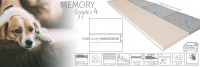 Memory topper 4 fedőmatrac Fedőmatrac