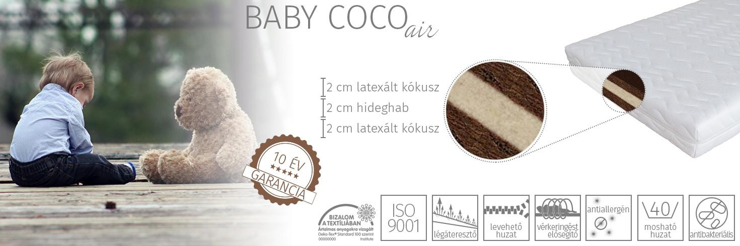 Baby coco air gyerekmatrac