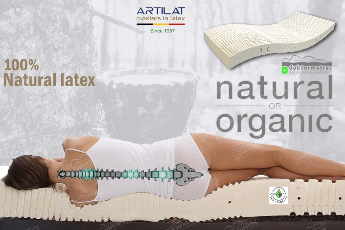 100% BIO Talalay latex 80 matrac