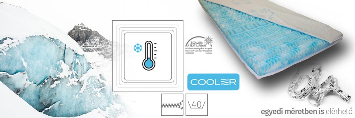Cooler topper - hőszabályozó fedőmatrac