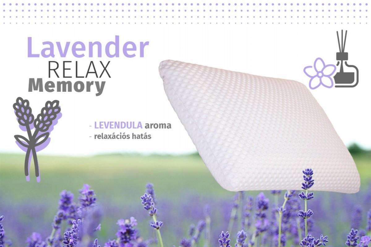Lavender Relax Memory párna