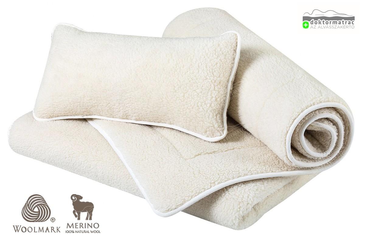 Woolmark Merino Bárány gyapjú 450g/m2 garnitúra