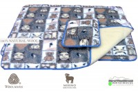 Woolmark Merino Bárány gyapjú gyermek 450g/m2 garnitúra  Gyapjú garnitúrák