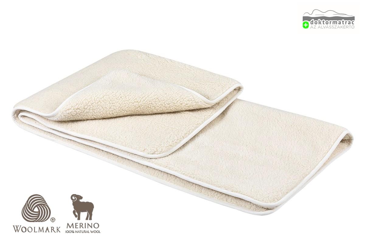 480g/m2 Woolmark Merino Bárány gyapjú takaró