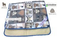 Woolmark Merino Bárány gyapjú gyermek takaró 450g/m2 Gyapjú takarók