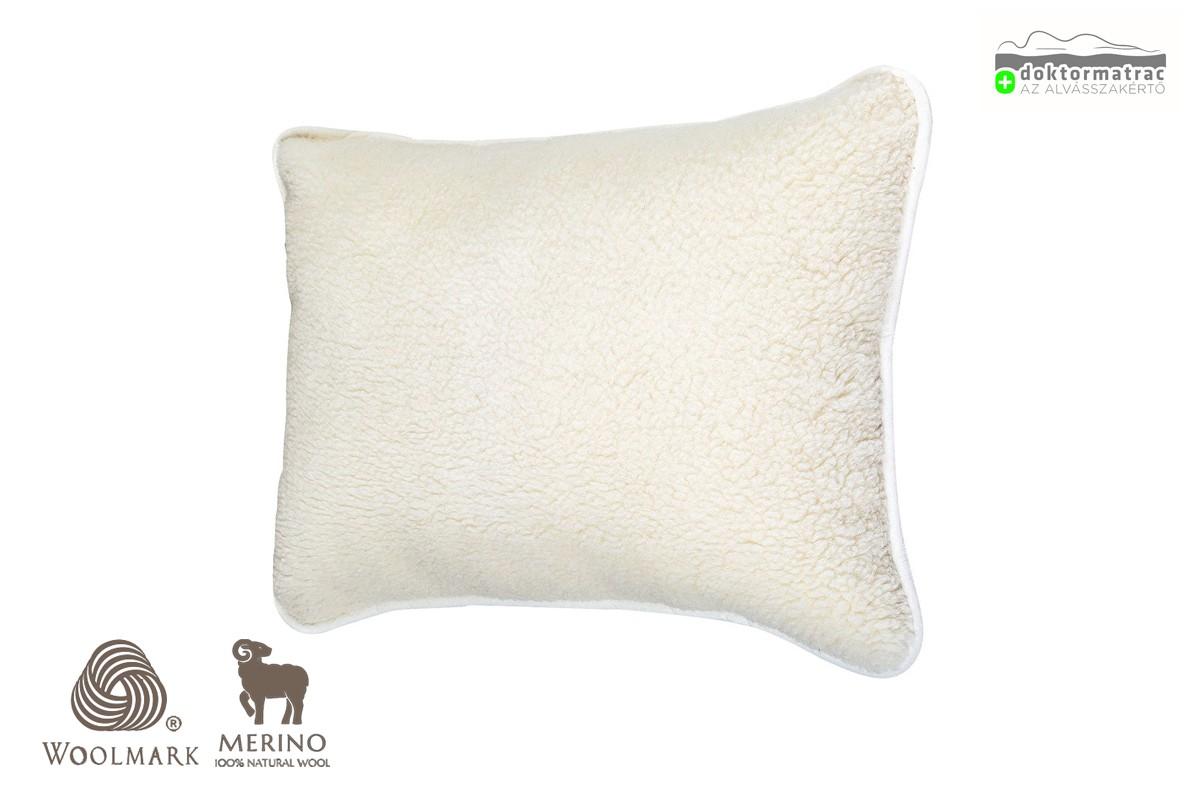 Woolmark Merino Bárány gyapjú párna 450g/m2