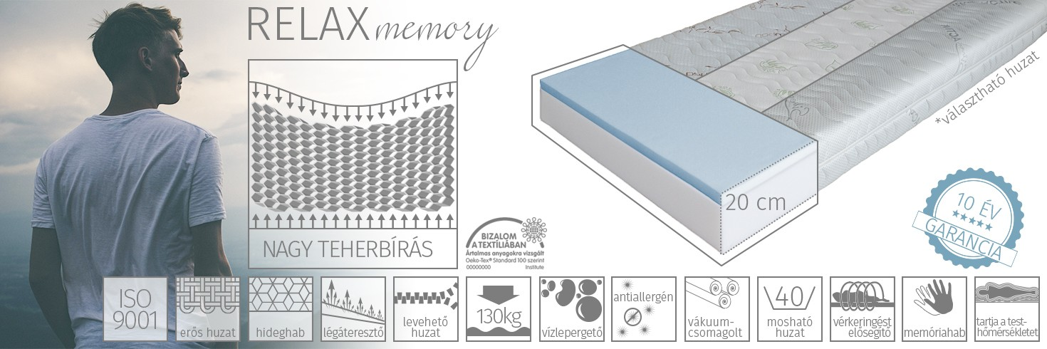 Relax memory matrac