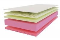 Deluxe memory 5X+1 komfort matrac - memóriahabos matrac