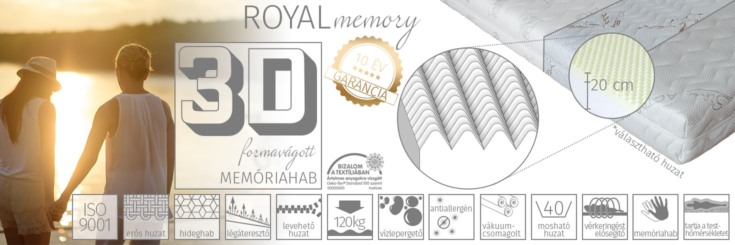 Royal memory matrac